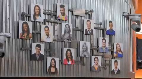 Big Brother Canada Memory Wall - Week 3