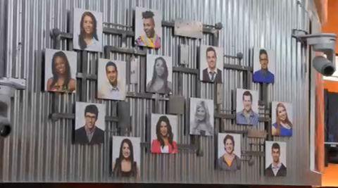 Big Brother Canada Memory Wall - Week 3