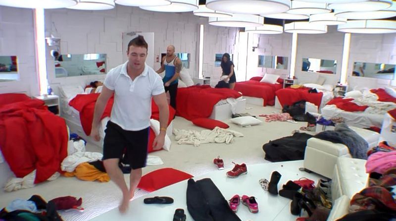 Messy bedroom on BBCAN2