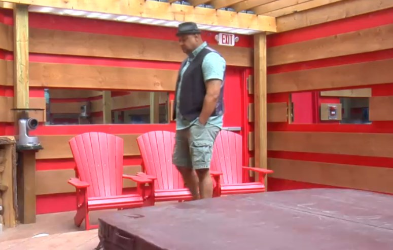 Big Brother Canada 2 – Paul pacing after Veto meeting