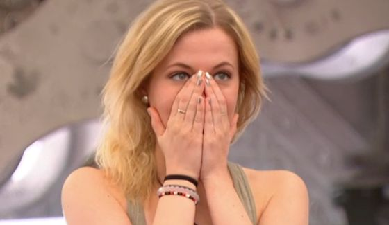 Ashleigh is shocked by the returning BBCAN3 HG