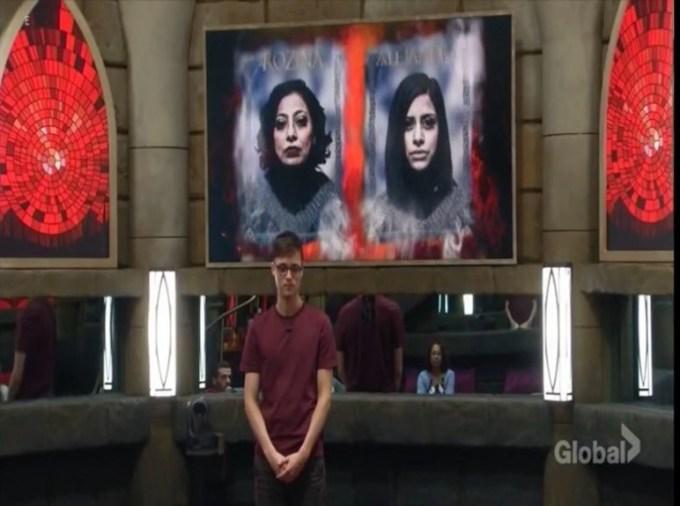 Big Brother Canada 6 Week 1 Nominations