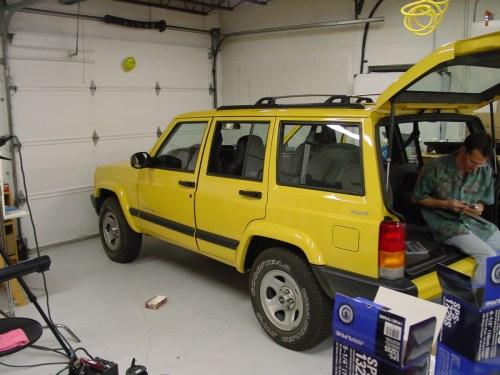 small resolution of 1990 jeep cherokee speaker wiring