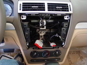 20062009 Ford Fusion and Mercury Milan Car Audio Profile