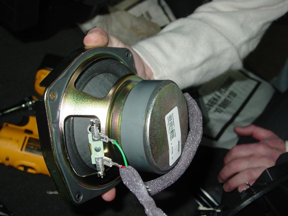 2003 Chevy Silverado Stereo System Wires