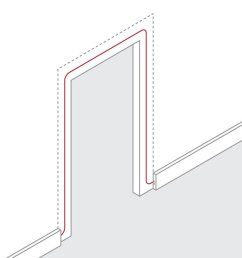 how to route wire around a door frame [ 978 x 941 Pixel ]