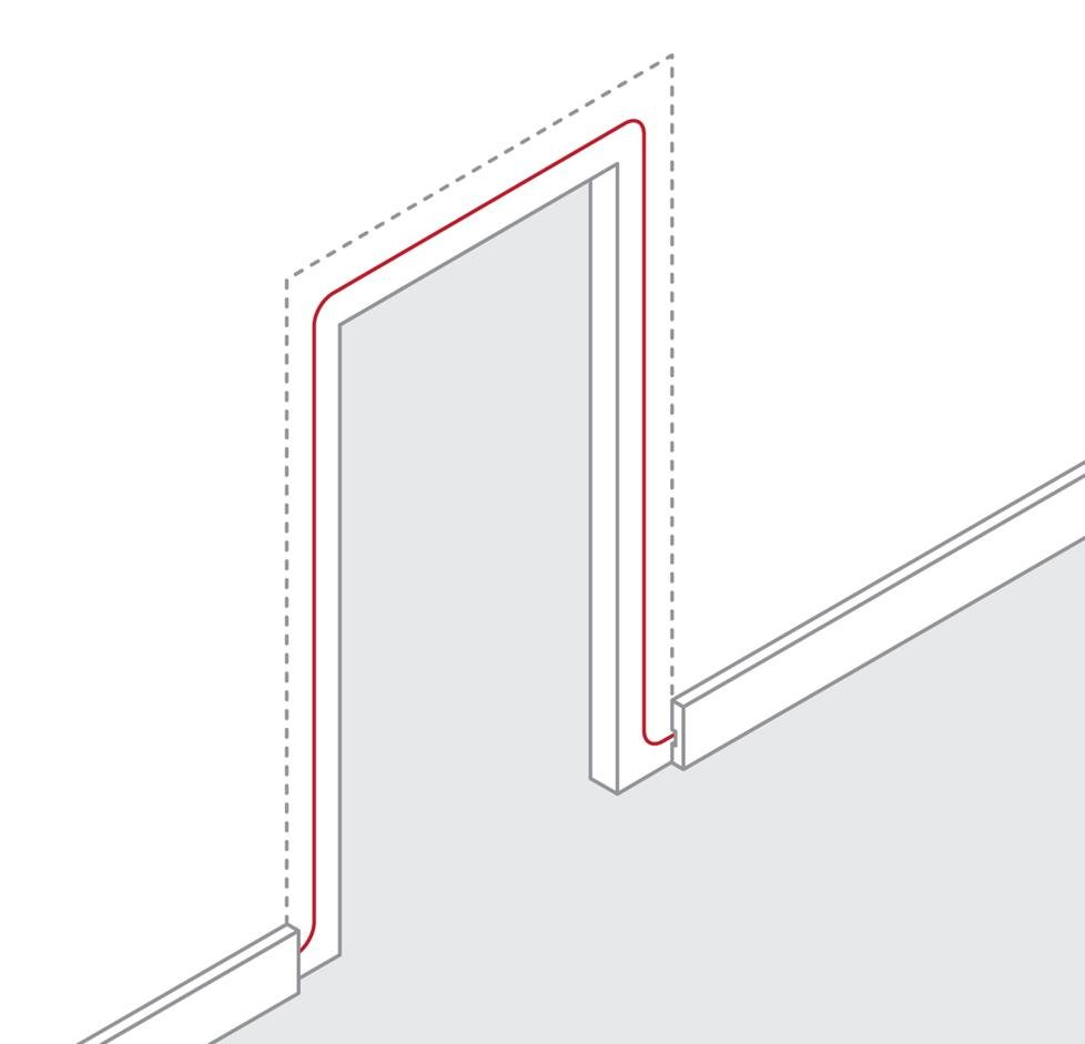 medium resolution of how to route wire around a door frame