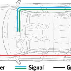 Powered Subwoofer Home Audio Wiring Diagrams 1999 Grand Cherokee Diagram How To Connect An Amplifier A Factory Stereo