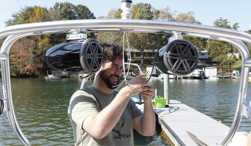 small resolution of clamp for boat wiring