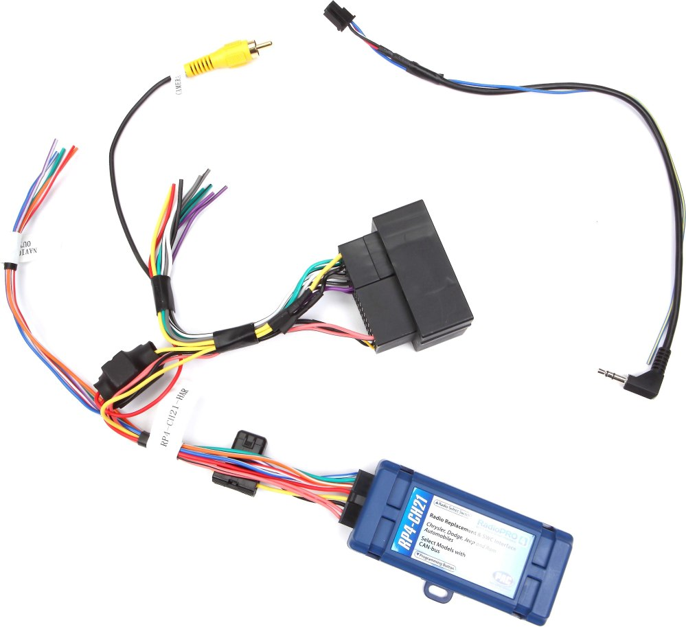 medium resolution of pac rp4 ch21 wiring interface connect a new car stereo and retain factory steering wheel audio controls driver info centre and amp in select 2013 up dodge