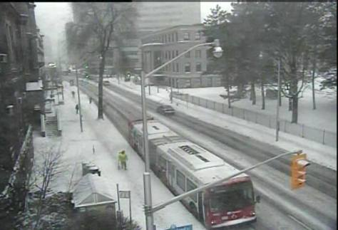 And the snow just keeps coming down - University of Ottawa