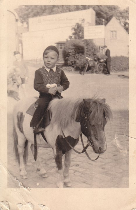 Guess who at 3 years old - 1952 - Klaus J Gerken