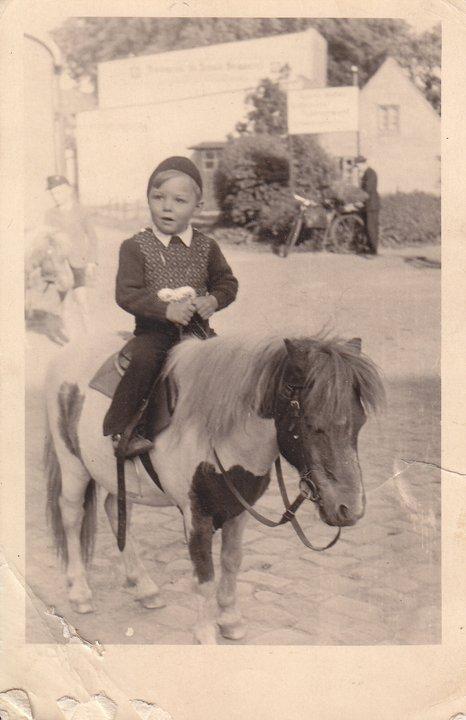 Guess who at 3 years old - 1952 - Klaus J Gerken