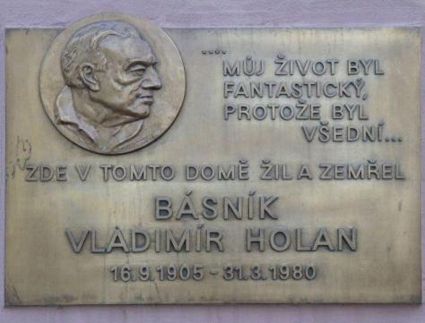 Today is the birthday of Vladimir Holan