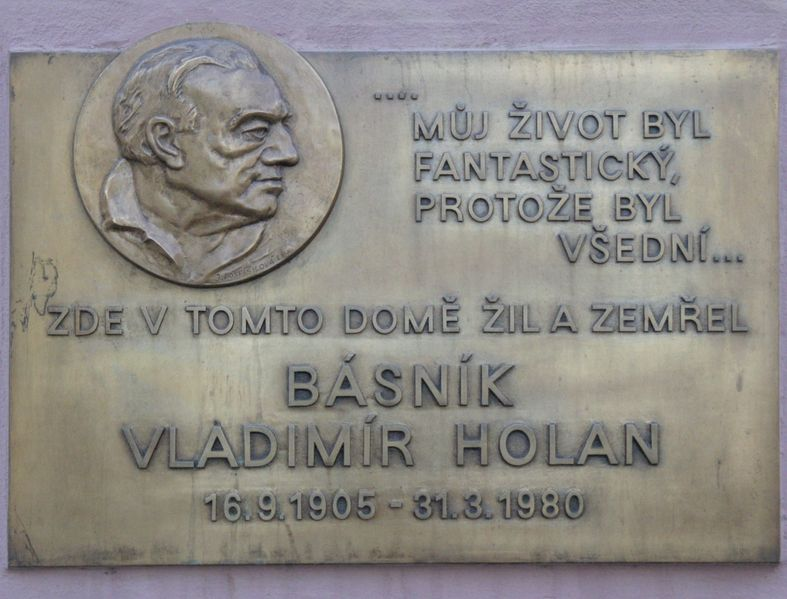 Today is the birthday of Vladimir Holan
