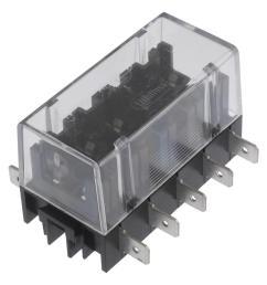 03500417z fuseholder fuse block panel mount  [ 945 x 957 Pixel ]