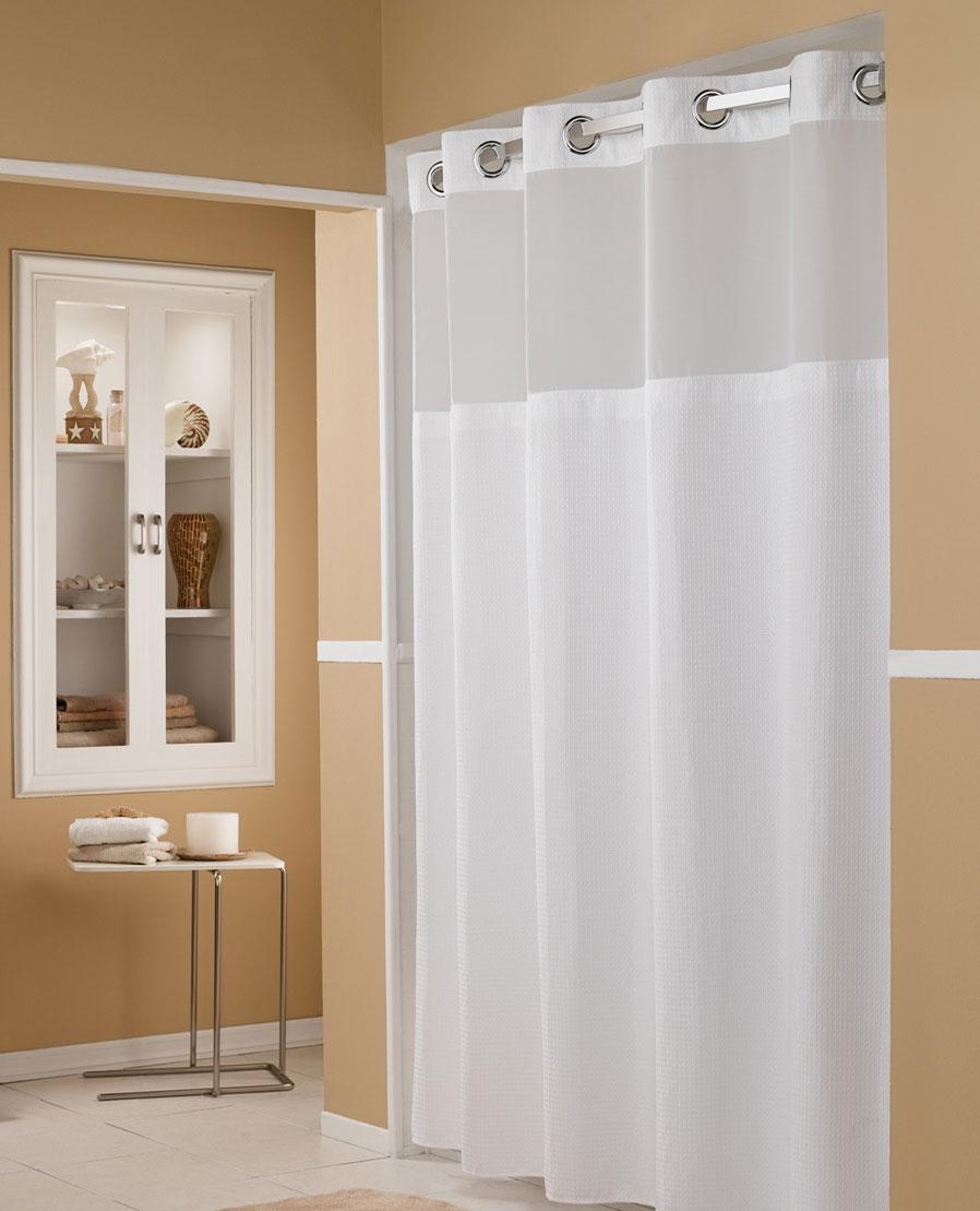 Buy Luxury Hotel Bedding From Marriott Hotels Hookless Shower Curtain