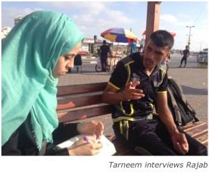 Tarneem interviews Rajab copy