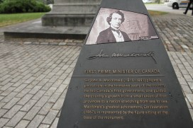 Sir John A. MacDonald, our first PM
