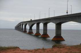 Confederation Bridge, 13 km long