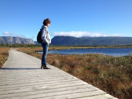 Trail to Western Brook Pond