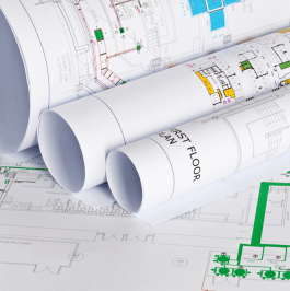 Colour CAD Engineering Blueprint printing