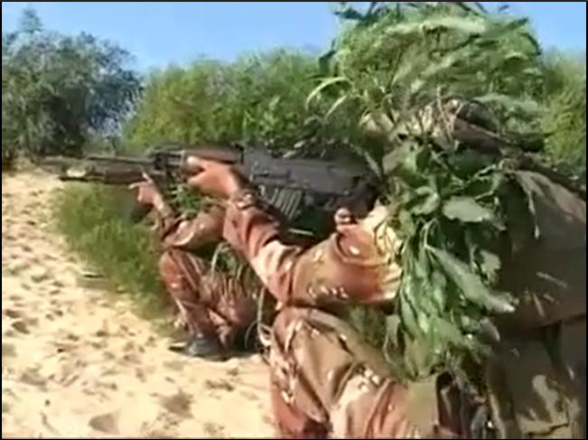 Hamas video screenshot