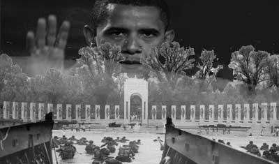 War Vets, WAR MEMORIAL, Obama