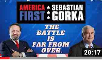 The battle is far from over, Lord Conrad Black with Sebastian Gorka on AMERICA First