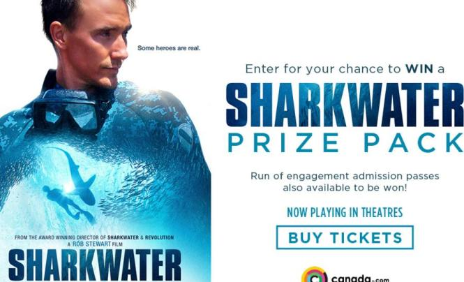 Sharkwater Extinction Prize Pack Contest