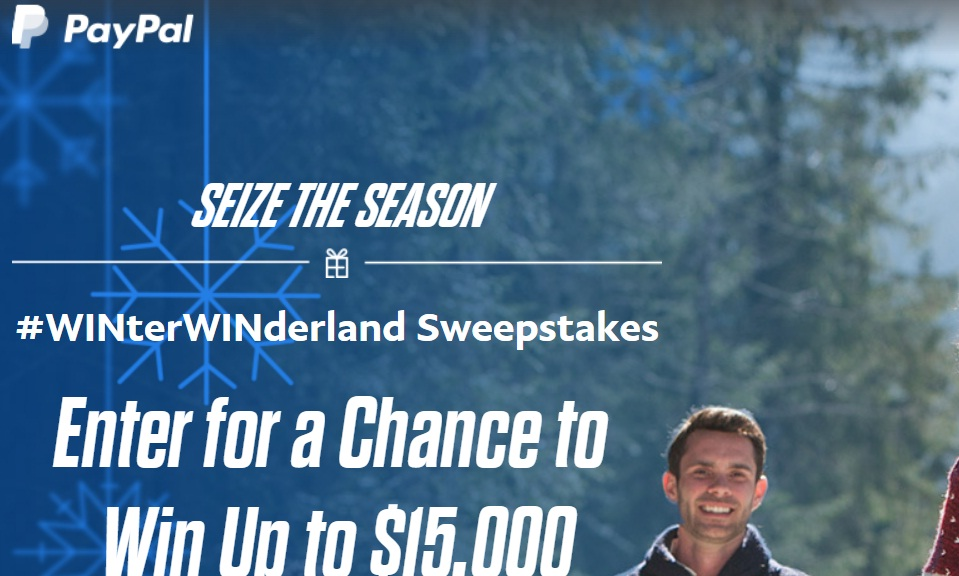 Paypal Canada Holiday Sweepstakes – Win $5,000 CAD Cash