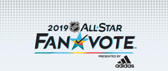 2019 NHL All-Star Fan Vote Sweepstakes