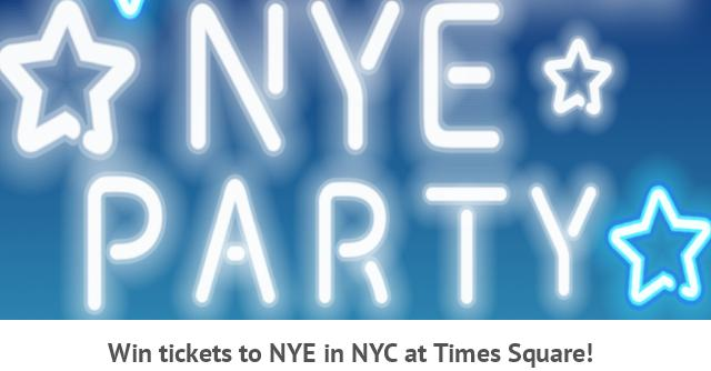 Blue Fin's 2019 New Year's Eve Party Instagram Sweepstakes