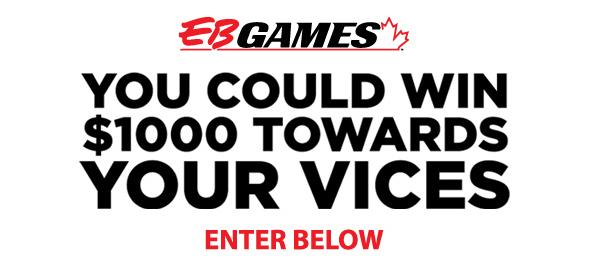 EB Games And Vice Contest