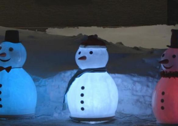 Magic Ice Snowman Ice Sculpture Mold Giveaway