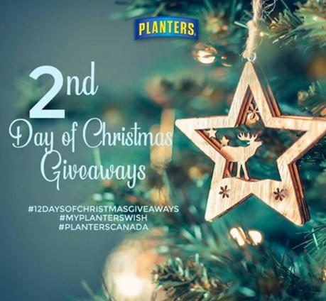 Planters 12 Days of Christmas Giveaway