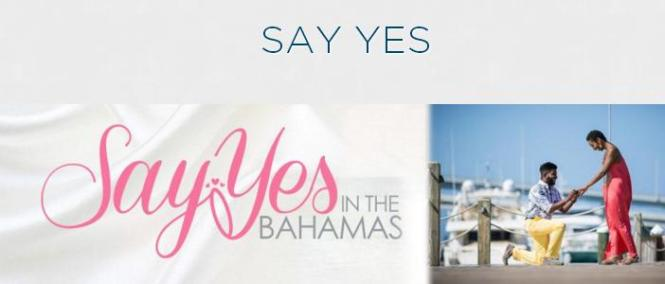Say Yes In The Bahamas Contest