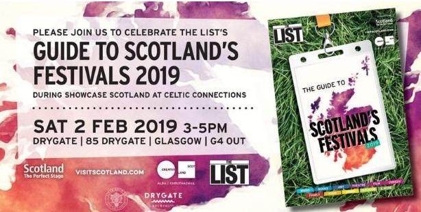 2019 Guide to Scotland's Festivals Competitions