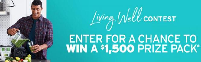 The Shopping Channel Living Well Contest