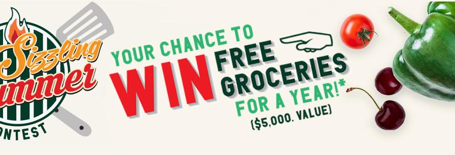 Grocery Gateway Sizzling Summer Contest - Win A $100 Gift