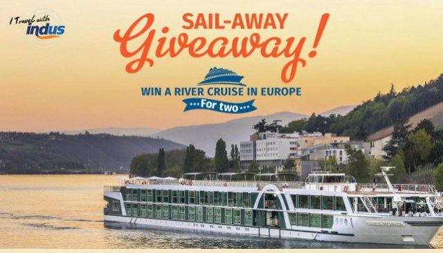 I Travel With Indus Sweepstakes - Win A River Cruise To