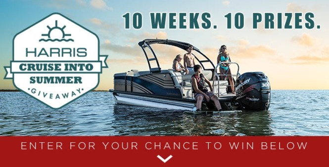 Harris Boats Cruise Into Summer Giveaway