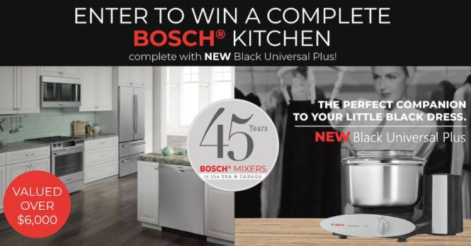 Bosch Mixers USA Giveaway