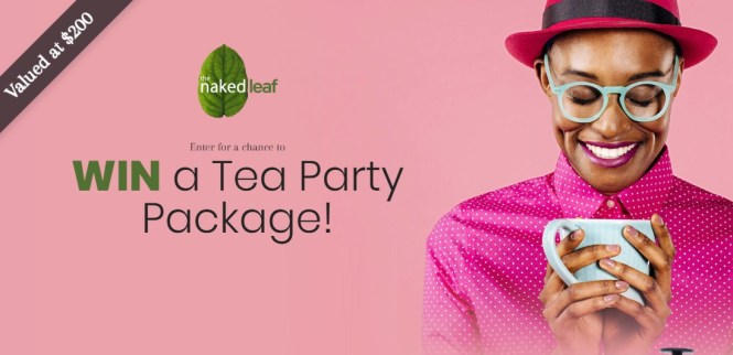 Naked Leaf Tea Party Package Contest