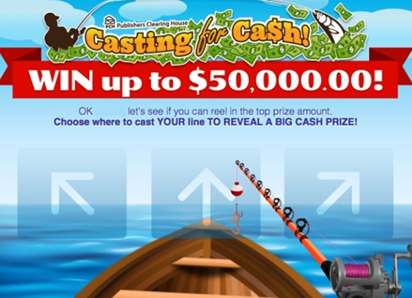 PCH Com Casting For Cash Giveaway - Win Up To $50000