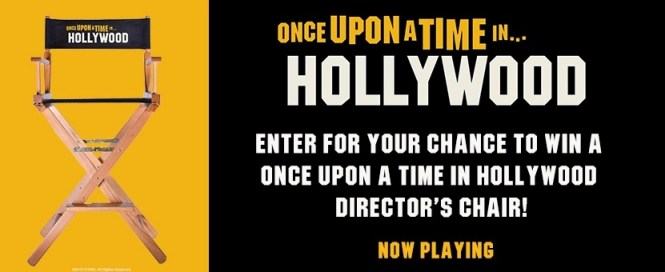 Landmark Cinemas Once Upon A Time In Hollywood Contest