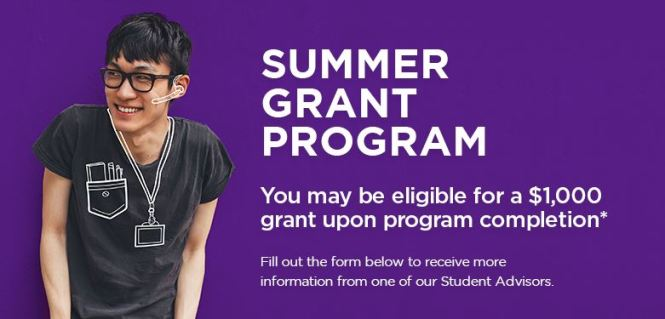 Robertson College - Summer Grant Promotion Sweepstakes