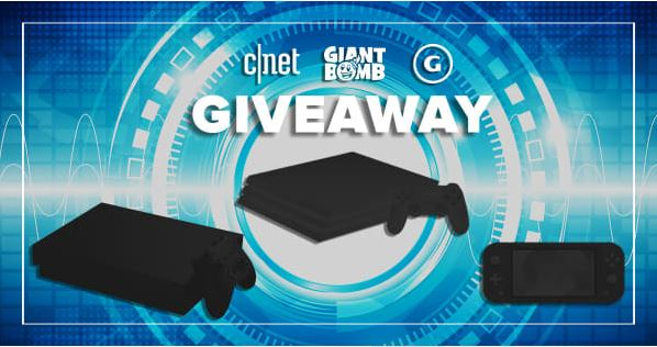 CNET GameSpot And Giant Bombs Gamer Giveaway