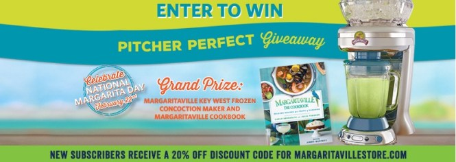 Margaritaville Pitcher Perfect Giveaway