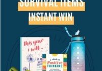 Steamy Kitchen 2021 Survival Items Instant Win Game Sweepstakes